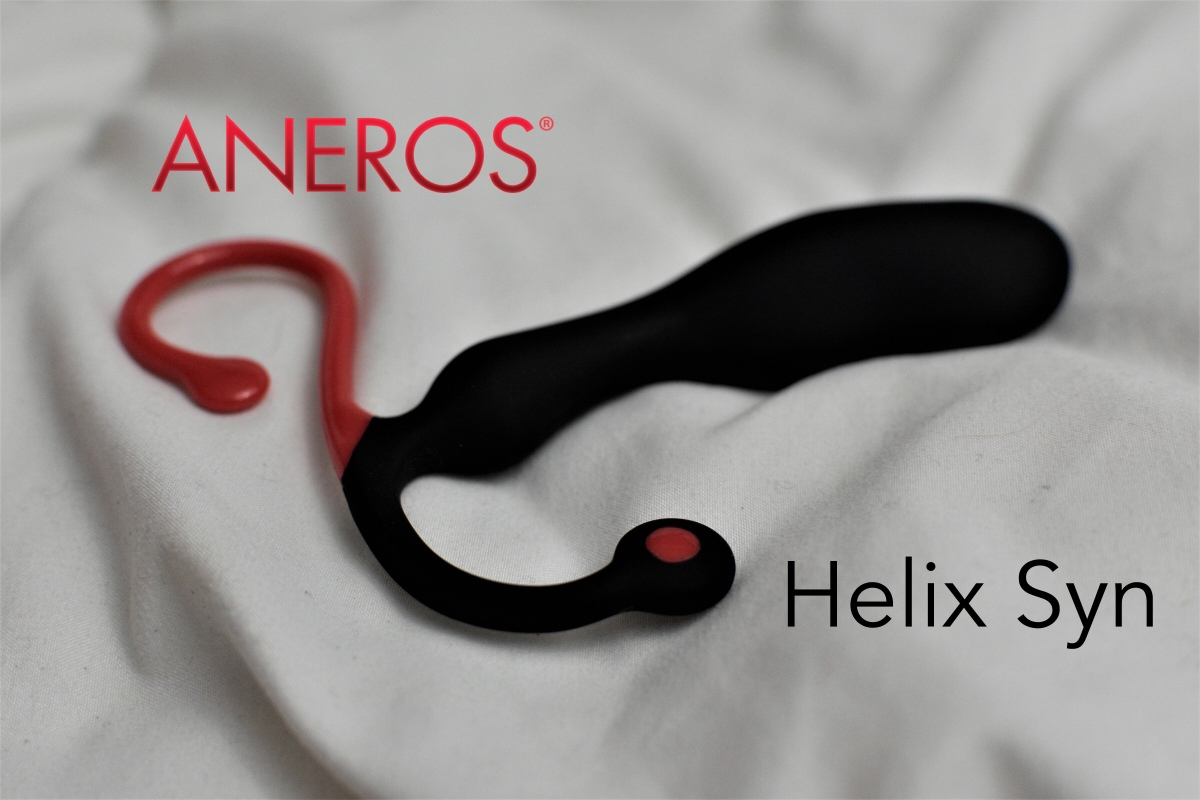 Helix Syn Silicone Prostate Massager By Aneros Luna Vixen